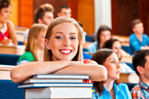 Cheerful Student Stock Photo - Download Image Now