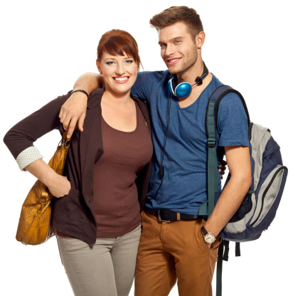 Cheerful Students Stock Photo - Download Image Now