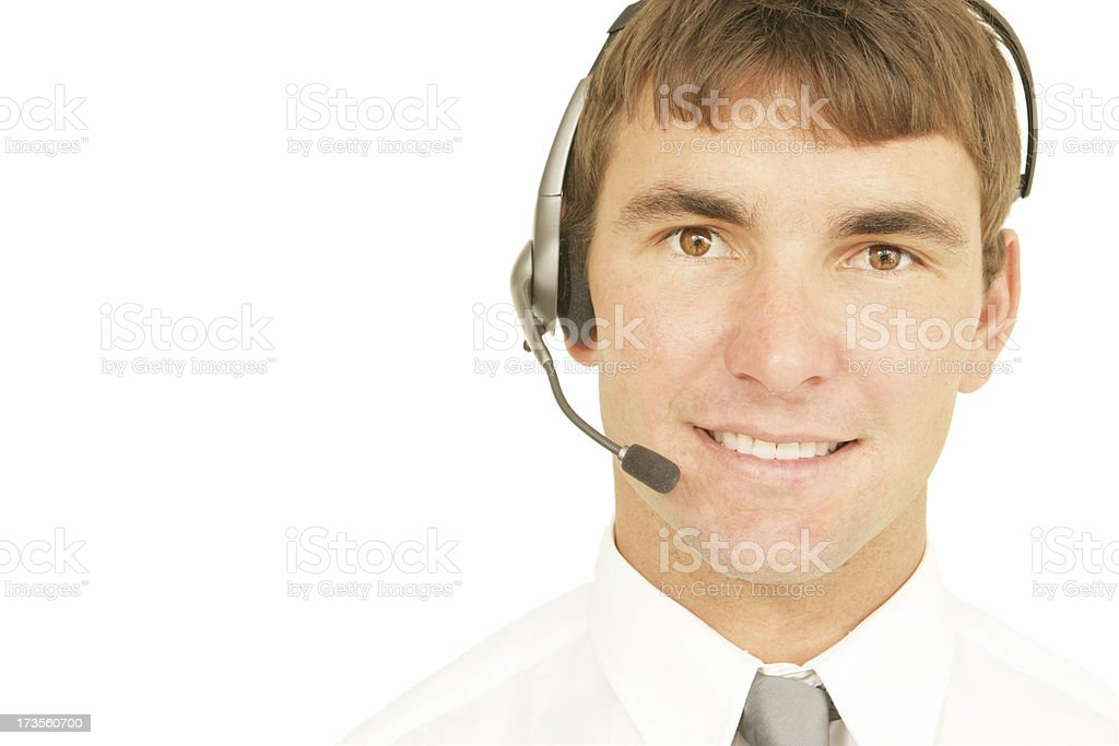 Cheerful Support royalty-free stock photo