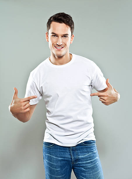 cheerful young man - one man only stock pictures, royalty-free photos & images