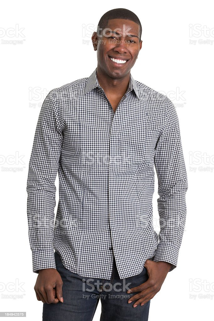 Cheerful Young Man Posing stock photo