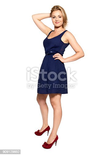 istock Cheerful Young Woman 909129852
