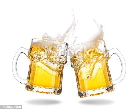 istock Cheering beer 1038618408