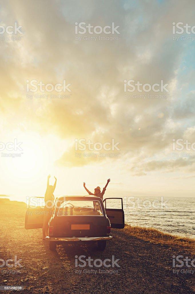 Jubeln Sie die Sonne – Foto