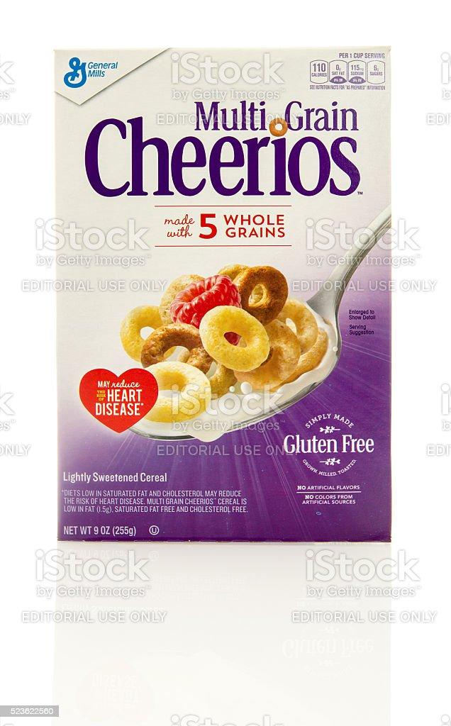 Cheerios Cereal stock photo