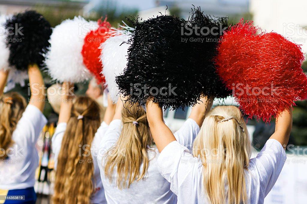 cheerleader royalty-free stock photo