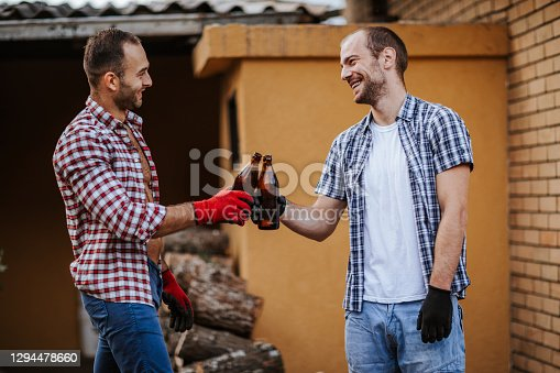istock Cheers for the good job! 1294478660
