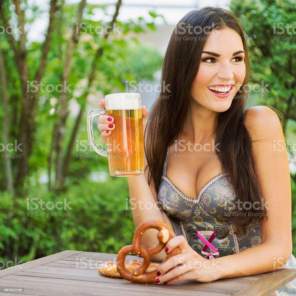Cheers - It's Oktoberfest time! stock photo