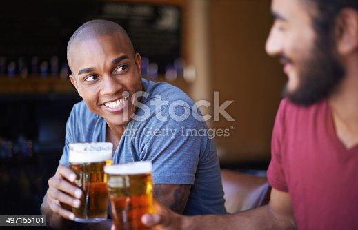 istock Cheers mate! 497155101