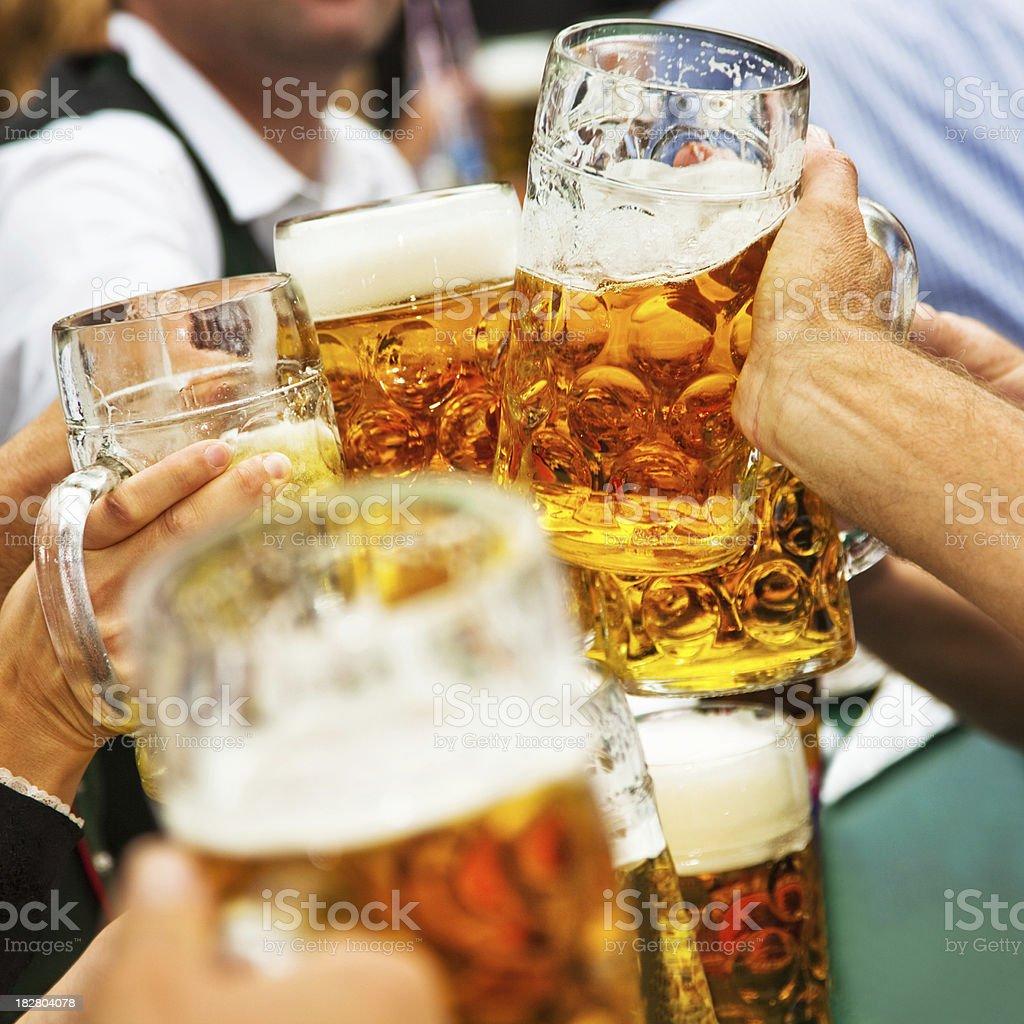 ¡Salud! - foto de stock