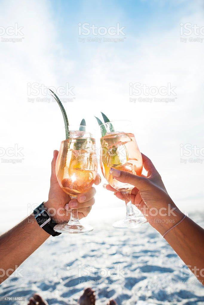 Cheers! - foto stock