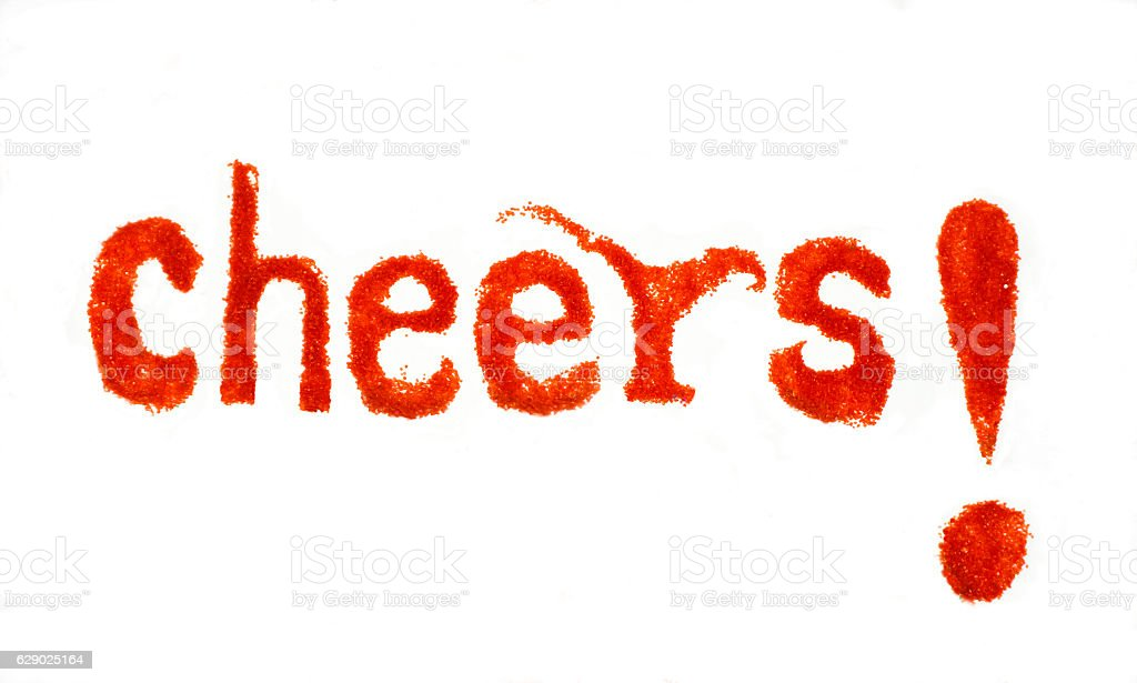 Cheers! stock photo