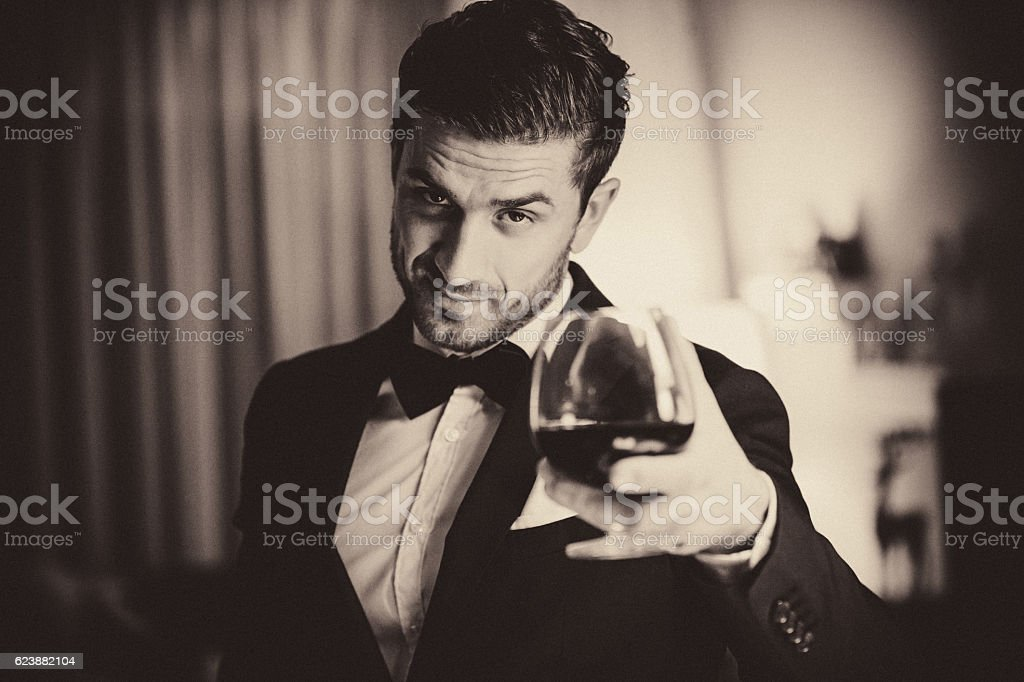 Cheers to all stock photo