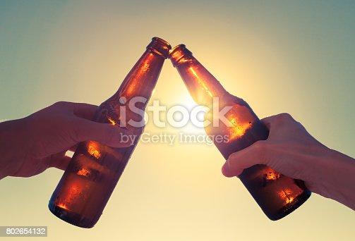 istock Cheers to beer! 802654132