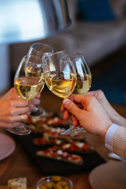 Cheers to friendship stock photo