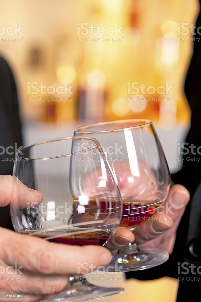 Cheers to health. royalty-free stock photo