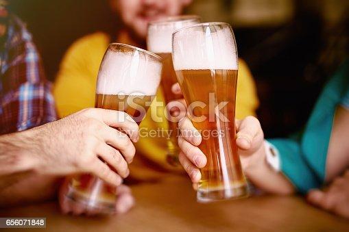 istock Cheers to St Patrick! 656071848