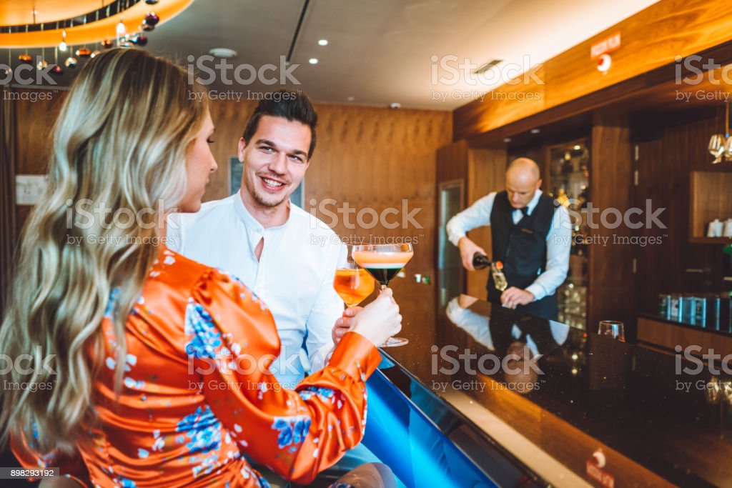 Cheers to the freaking weekend stock photo