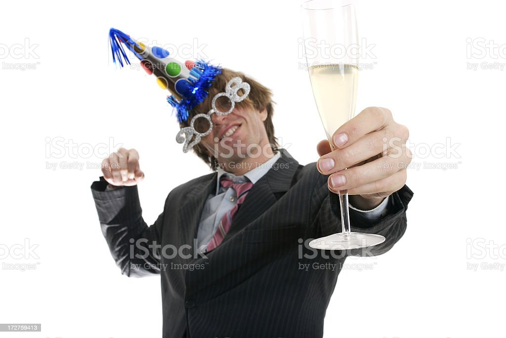 Cheers to the New Year! royalty-free stock photo