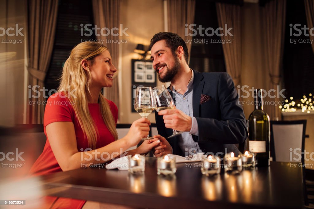 Cheers To Us stock photo