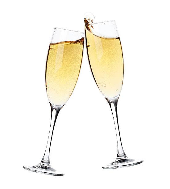 X Champagne Glass Flutes