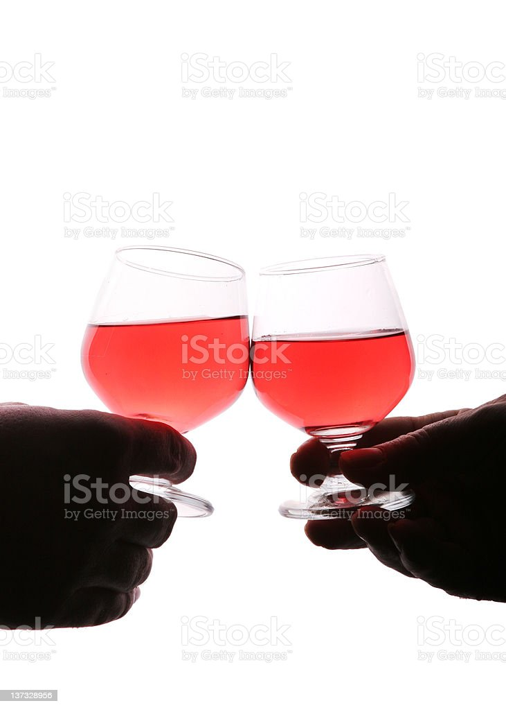 Cheers up royalty-free stock photo