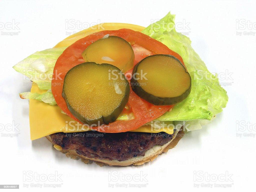cheesburger royalty-free stock photo