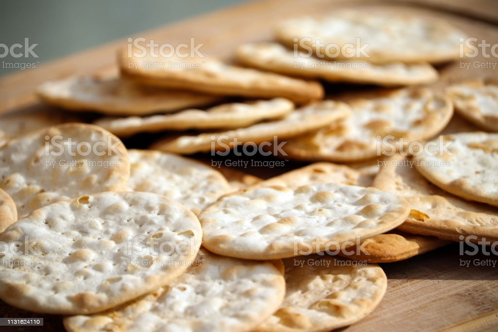 Cheese Biscuit Crackers - Royalty-free Appetizer Stock Photo