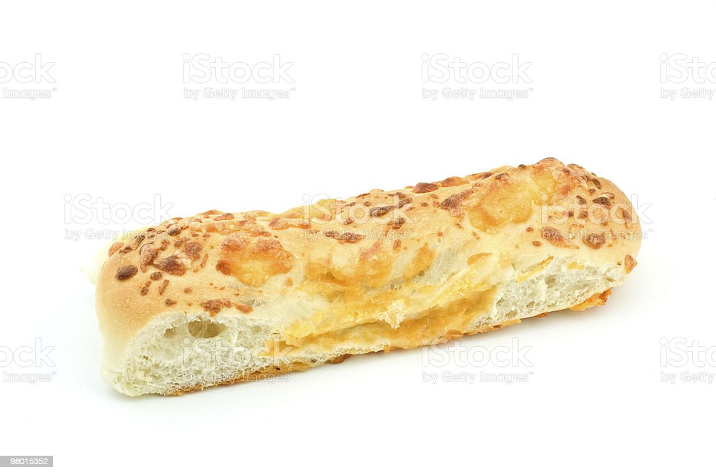 Cheese breadstick royalty-free stock photo