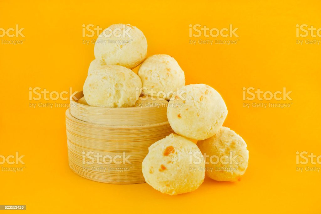 Cheese buns stock photo