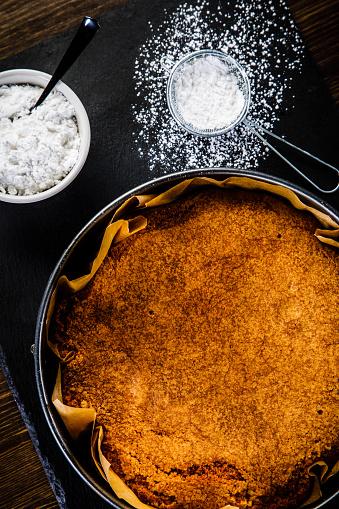 Cheesecake Stockfoto en meer beelden van Bakkerij