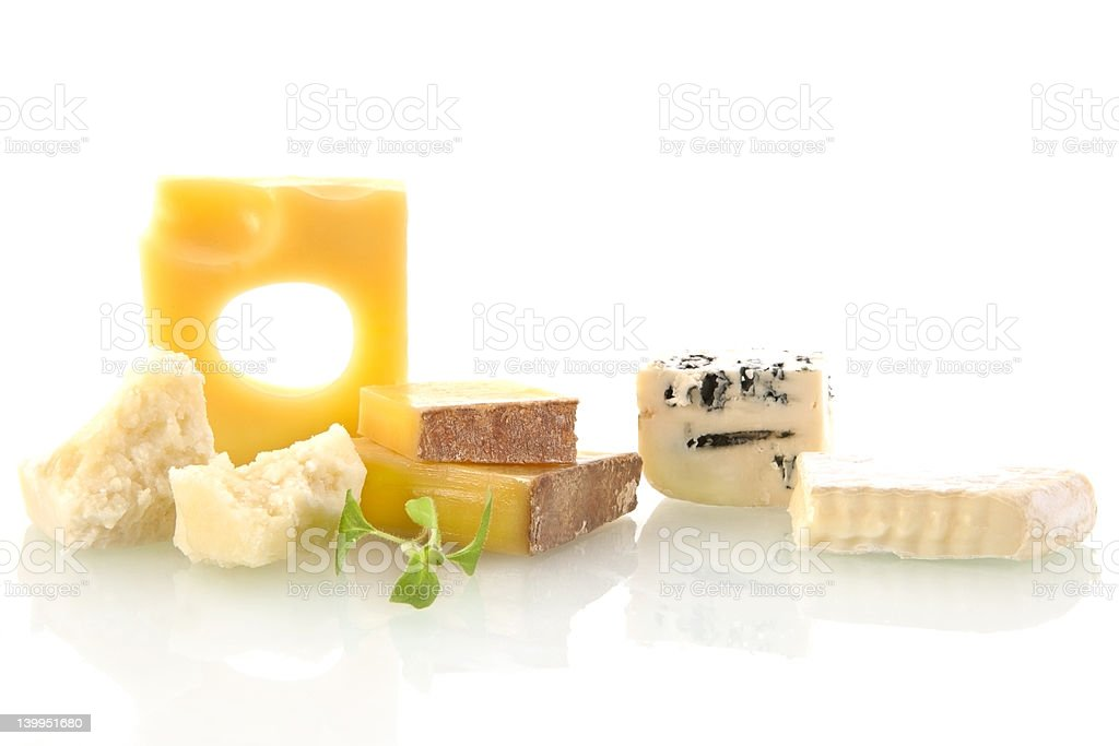 Cheese collection. royalty-free stock photo