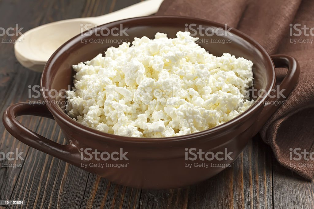 Cheese cottage royalty-free stock photo