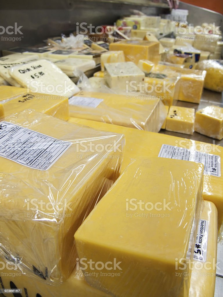 Cheese Counter royalty-free stock photo