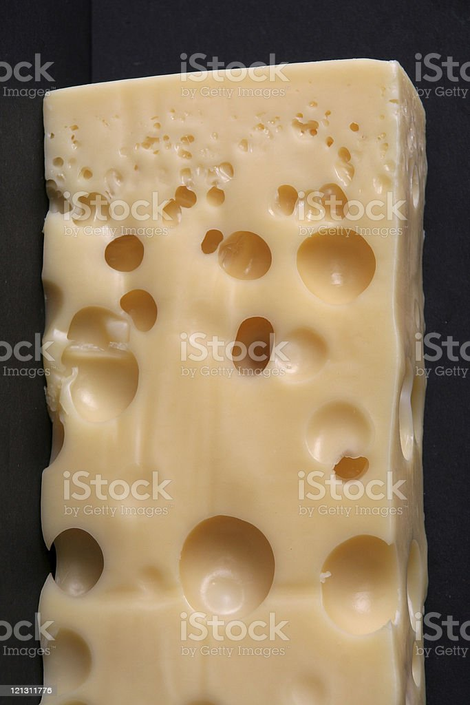 Cheese Emmentaler royalty-free stock photo