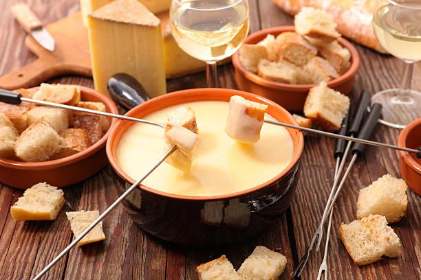 cheese fondue swiss – Foto