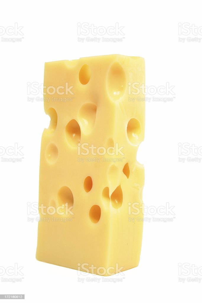 Cheese for the mouse (two) royalty-free stock photo