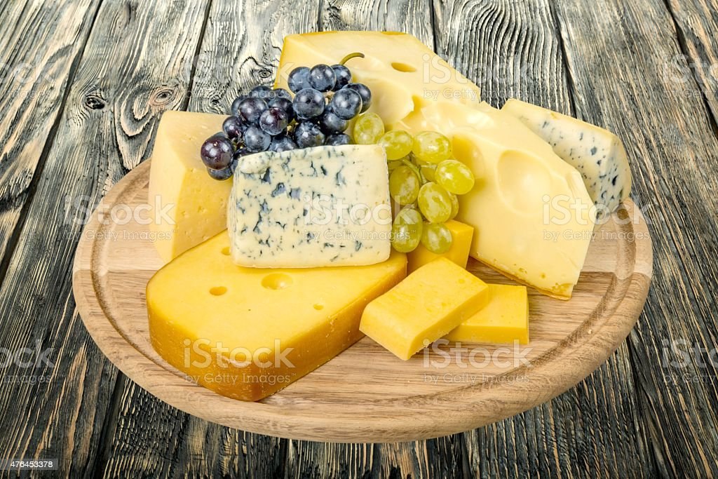Cheese, French Culture, Grape stock photo