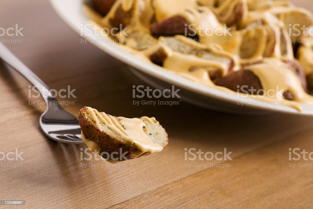 cheese fries royalty-free stock photo