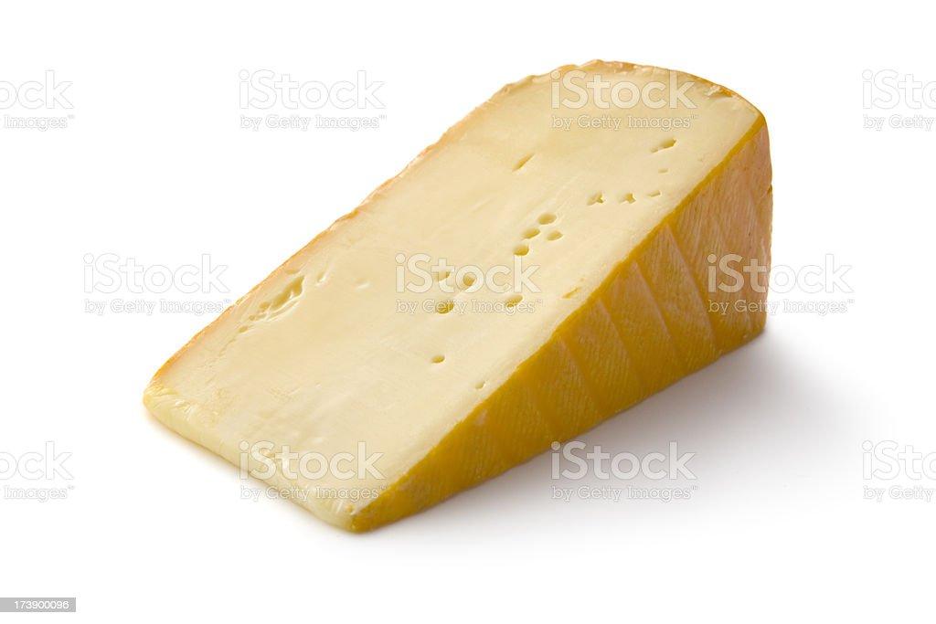Cheese: Gouda royalty-free stock photo