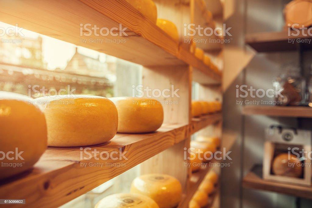 Cheese heads stock photo