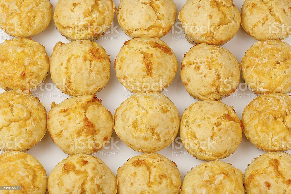 Cheese Muffins royalty-free stock photo