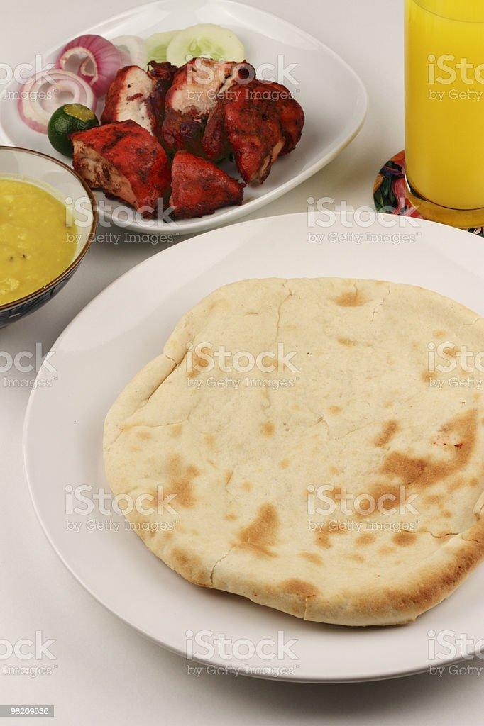 Cheese Naan royalty-free stock photo