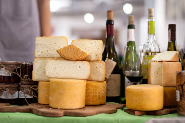 Cheese on sale stock photo