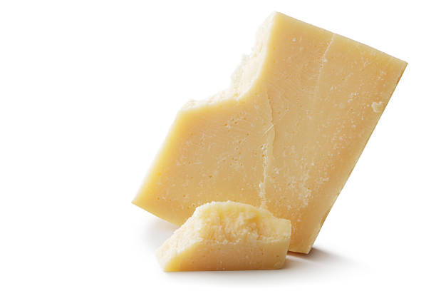 Cheese: Parmesan Cheese stock photo