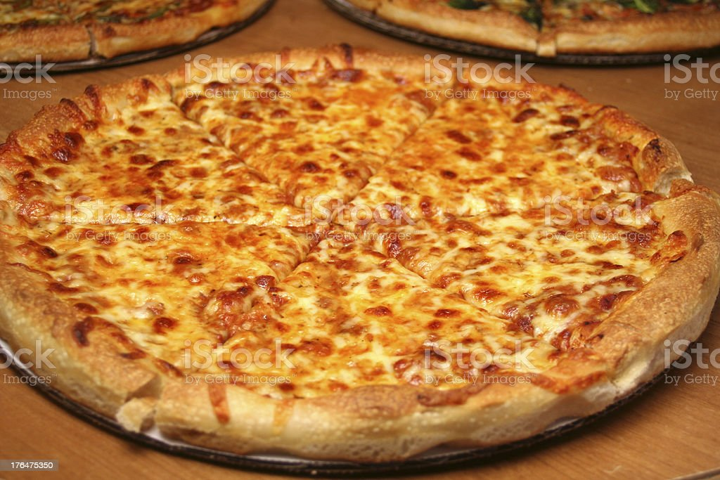 Cheese Pizza stock photo