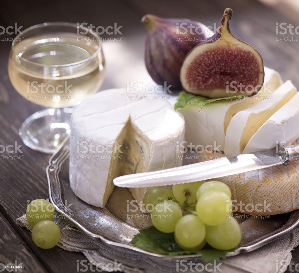 Piatto di formaggi - foto stock