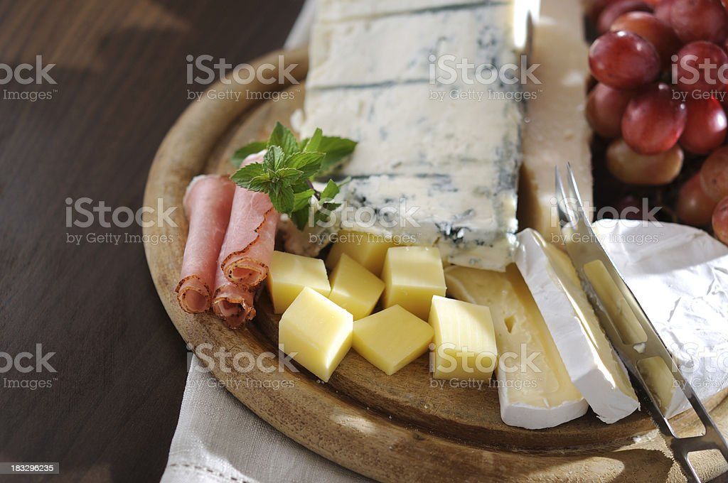 Cheese Plate royalty-free stock photo