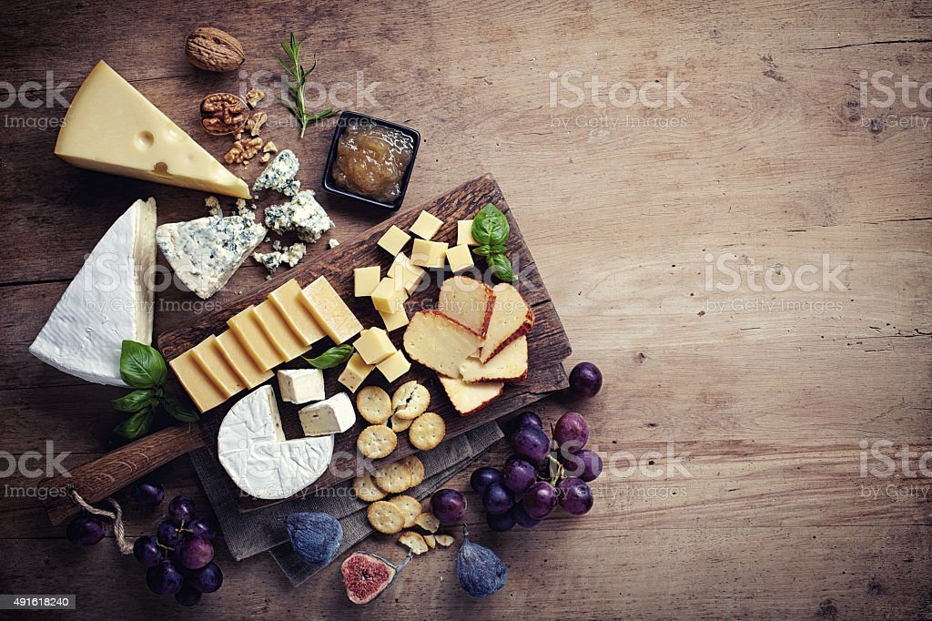 Assiette de fromages - Photo