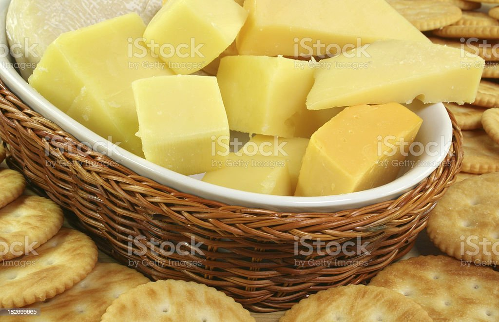 cheese platter - Royalty-free Appetizer Stock Photo